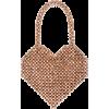 Loeffler Randall Maria Beaded Heart Tote - Hand bag -