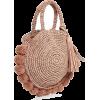 Loeffler Randall Straw Circle Tote - Messenger bags -