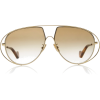 Loewe Gold-Tone Aviator-Style Sunglasses - Sunglasses -