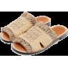 Loewe Raffia Mule naturel - Flats -