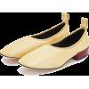 Loewe Soft Ballerina 25 Light Yellow - Flats -