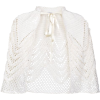 Loewe crochet-knit cape jacket - Overall -