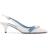 Logo-print leather slingback pumps - Classic shoes & Pumps -