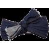 Lola Hats Frayed Denim Headband - Uncategorized -