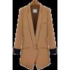 Long Sleeve Light Tan Suit - Marynarki - $51.00  ~ 43.80€