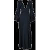 Long Black Dress - Dresses -