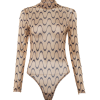 Long-sleeved mesh perspective wavy line - Pidžame - $17.99  ~ 114,28kn