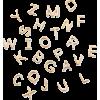 Loquet Letter Charm - Predmeti -