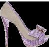 Loriblu Shoes Purple - Scarpe -