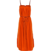 Loro Piana Milda leather-trimmed dress - Dresses -