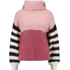 Lost ink pink and striped jumper - Maglioni -
