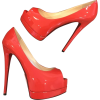Louboutin coral heels - Classic shoes & Pumps -