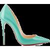 Louboutins 2014 turquoise blue (tiffany  - Klassische Schuhe -