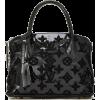 Louis Vuitton Limited Edition Black Mono - Hand bag -