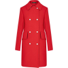 Louis Vuitton red coat - Jacket - coats -