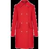 Louis Vuitton red coat - Kurtka -
