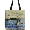 Louisa May Alcott tote by Sara Riches - Travel bags -