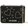 Love Moschino Studded Heart Mini Bag - Hand bag -
