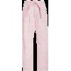 LoveShackFancy Marika Corduroy Straight- - Pantaloni capri -