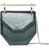 M2MALLETIER Amor Fati metallic lizarad-e - Hand bag -