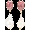 MAGDA BUTRYM Dahlia 24kt gold-plated ear - Earrings -