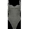 MAGDA BUTRYM grey bodysuit - Underwear -