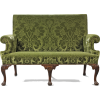 MAHOGANY SOFA C1750 style PAUL SAUNDERS - Arredamento -