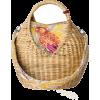 MAISON ALMA straw basket bag - Borsette -