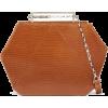 MAISON ETNAD Suzan lizard-effect leather - Hand bag - 504.00€  ~ $586.81