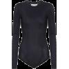 MAISON MARGIELA Stretch bodysuit - Camisas manga larga -