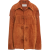 MAISON MARGIELA fringed suede jacket - Chaquetas -