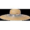 MAISON MICHEL Bianca metallic-trimmed st - Hat -