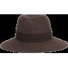 MAISON MICHEL Virginie grosgrain-trimmed - Hat -