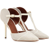 MALONE SOULIERS Imogen leather and canva - Klasične cipele -