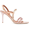 MALONE SOULIERS  Sage satin stiletto san - Sandals -