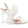 MALONE SOULIERS Sonia feather-embellishe - Sandals -
