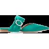 MALONE crystal embellished satin shoe - Flats -
