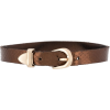 MANOKHI distressed buckled choker - Necklaces -