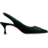 MANOLO BLAHNIK Dolores 50 crystal-embell - Classic shoes & Pumps -