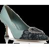 MANOLO BLAHNIK  GERONTIUS - Classic shoes & Pumps - £795.00  ~ $1,046.04