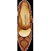 MANOLO BLAHNIK brocade shoe - Zapatos clásicos -