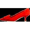 MANOLO BLAHNIK red escarpin - Classic shoes & Pumps -