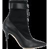 MANOLO BLAHNIK tie detail boots - Stivali -