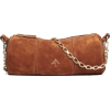 MANU ATELIER brown suede bag - Hand bag -