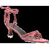 MANU ATELIER pink sandal - Sandalias -