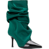 MARC ELLIS ruched pointed boots - Сопоги - $226.00  ~ 194.11€