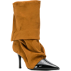 MARC ELLIS ruched pointed boots - Boots - $226.00