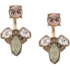 MARCHESA NOTTE crystal pendant earrings - Kolczyki -