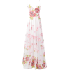 MARCHESA NOTTE long rose dress - Dresses -