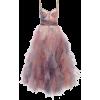 MARCHESA pastel colours dress - Dresses -